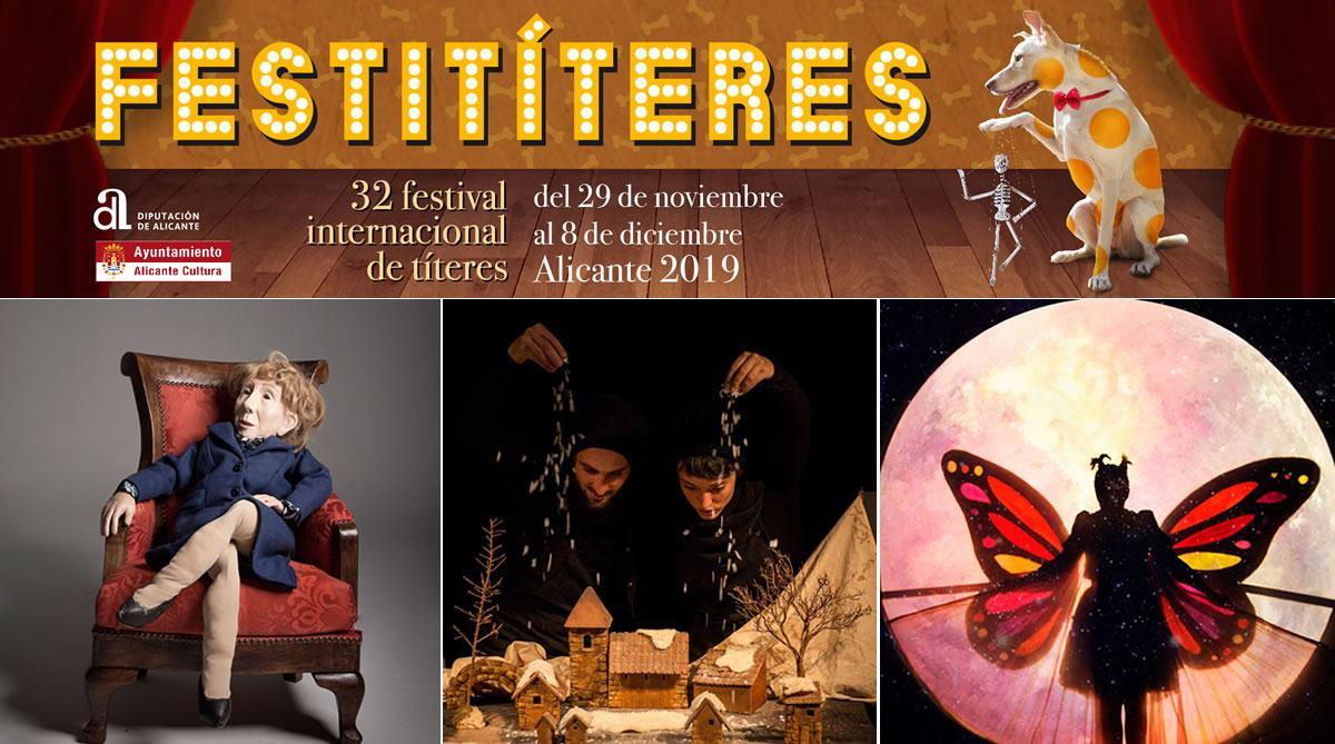 """Festititeres"" Festival Internacional de Títeres de Alicante"